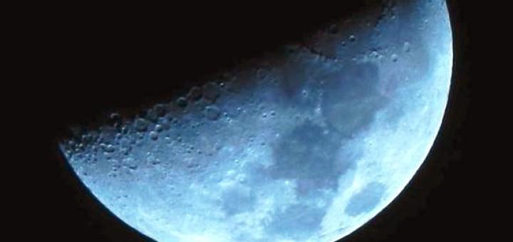 Luna - primo quarto