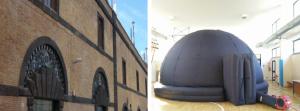 Spettacoli multimediali nel Planetario