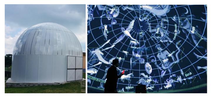 Alla scoperta del cielo di gennaio al Parco astronomico di Rocca di Papa